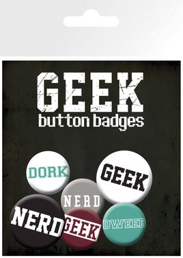 Geeks and Nerds - Text