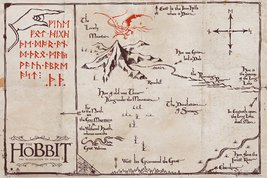 The Hobbit - Mountain Map