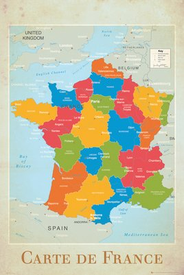France - Map