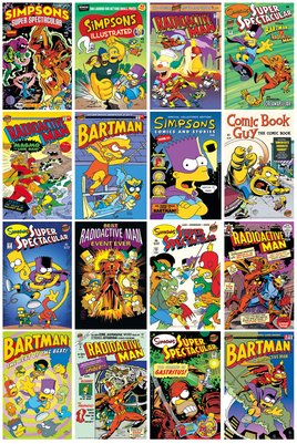 FP3215-SIMPSONS-comic-covers