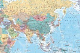 Asia and Middle East Map