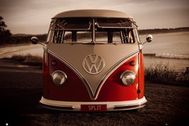 VW - Red Kombi