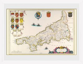 Maps - Cornwall