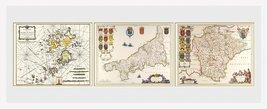 Maps- Triptych