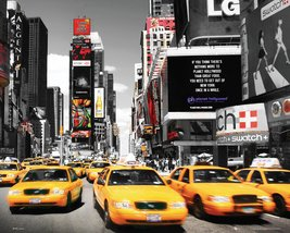 Times Square Yellow Cab Day