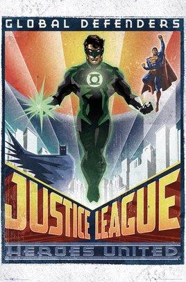 DC Comics - Green Lantern Art Deco