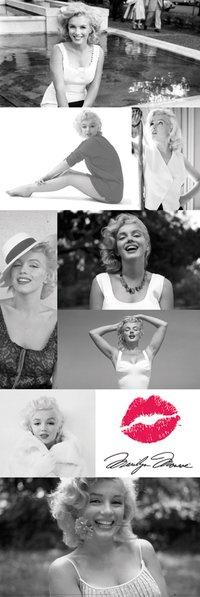 Marilyn Monroe - Tiled