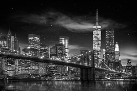 New York - freedom Tower B&W