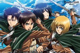 Attack on Titan - Four Swords