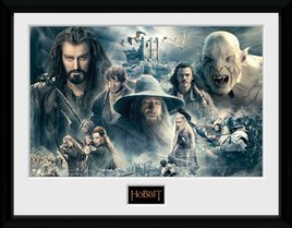 The Hobbit BOTFA collage landscape