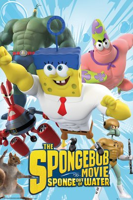 Spongebob The Movie - Characters