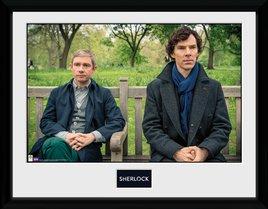 Sherlock - Park Bench