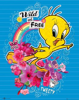 Tweety Pie Wild and Free