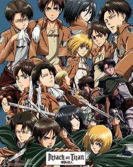 Attack On Titan Collage