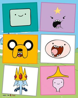 Adventure Time - Faces