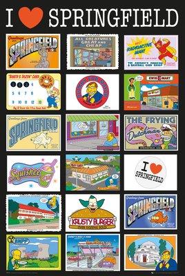 The Simpsons - Postcard
