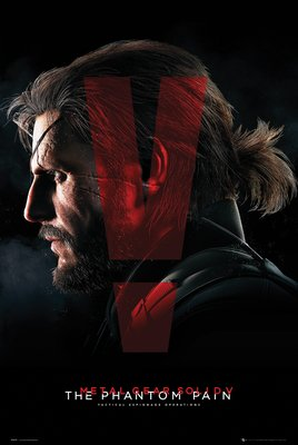 Metal Gear Solid V- Cover