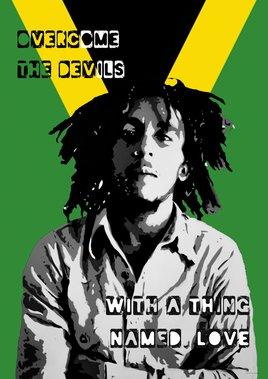 Bob Marley - Collage