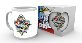 MG0849 DC COMICS superman sugar logo