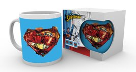 MG0850 DC COMICS superman art logo