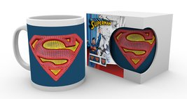 MG0851 DC COMICS superman mesh logo