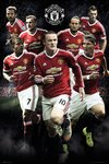 SP1282 MAN UTD players 15-16