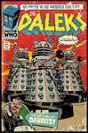 FP4103 DOCTOR WHO daleks comic cover