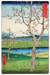 Hiroshige -  The Outskirts of Koshigaya