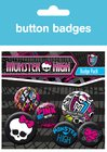 Monster High Graphics Badge Pack