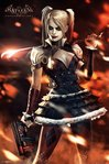Batman Arkham Knight - Harley Quinn Fire