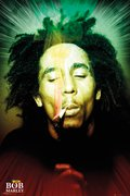 Bob Marley - Smoking Portrait