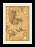 Pfp046-world-map-antique-style