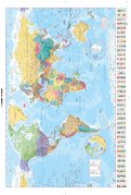 GN0214 WORLD MAP 2015
